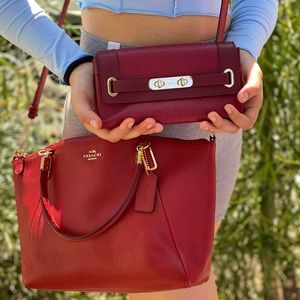 😱😍 gorgeous coach satchel bag with wallet